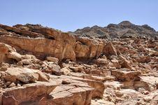 Free Egypt, The Mountains Of The Sinai Desert Stock Photo - 31392330