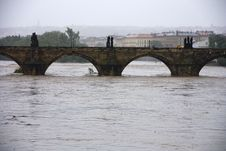 Free Floods In Prague Royalty Free Stock Photography - 31394507