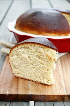 Free Hawaiian Sweet Bread Royalty Free Stock Photography - 31395147
