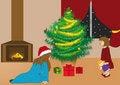 Free Christmas Card Royalty Free Stock Photos - 3142418