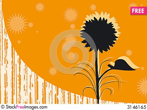 Free Orange Background Royalty Free Stock Photo - 3146165