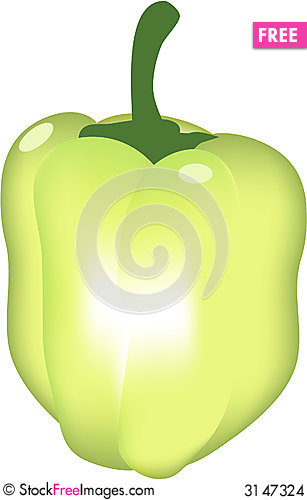 Free Green Pepper Stock Images - 3147324