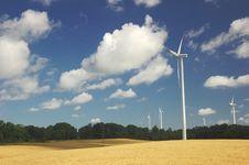 Free Windmills Stock Photography - 3140742