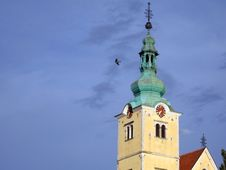 Free Church Tower In Samobor Stock Image - 3141181