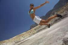 Free Jumping Girl Stock Images - 3141184