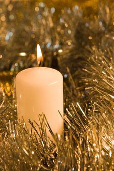 Free Burning Candle Stock Photo - 3141970
