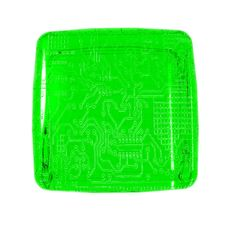 Circuit Cube Stock Image