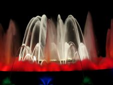 Free Fountain And Light Display Royalty Free Stock Photography - 3142687