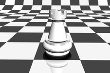 Free White Pawn Stock Photography - 3143432