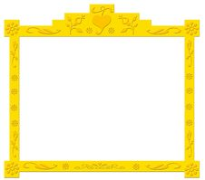Free Decorative Golden Frame Stock Photo - 3143580