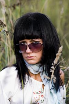 Free Beautyfull Woman In Eyeglass Stock Photo - 3143960