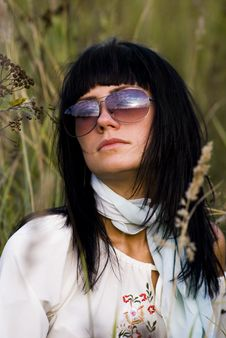 Free Beautyfull Woman In Eyeglass Royalty Free Stock Photo - 3144085