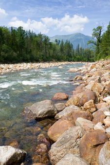 Free Mountain River Royalty Free Stock Photography - 3144267