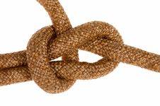 Free Bowline Knot On Cord Royalty Free Stock Photo - 3144645