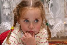 Free Little Girl Stock Photography - 3145002