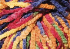 Free Colorful Yarn Background Royalty Free Stock Photo - 3146015