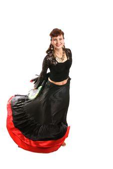 Free Gypsy Dancer Stock Image - 3146021