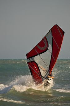 Free Windsurf Moves Royalty Free Stock Photos - 3146088