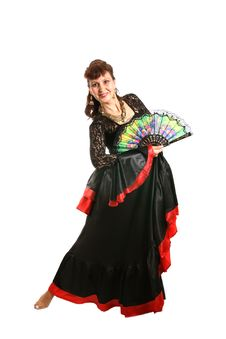 Free Gypsy Dancer Stock Photography - 3146132