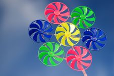 Free Colorful Spinner Stock Photo - 3146150