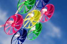 Free Colorful Plastic Spinner Royalty Free Stock Photo - 3146405