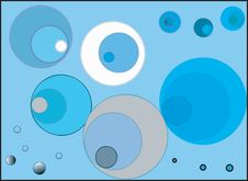 Free Blue Circles Stock Image - 3146441
