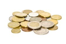 Free Coins Royalty Free Stock Photos - 3146678