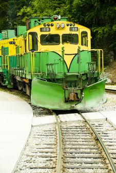 Train And Railroad Stock Image
