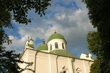 Frolovsky Monastery In Kiev Stock Image