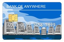 Free Credit Card With Computer Royalty Free Stock Photo - 3147345