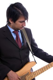 Free Guitar Artist Stock Images - 3147444