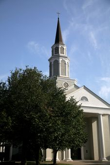 Free Country Church In Tennessee Stock Photo - 3148110