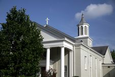 Free Country Church In Tennessee Royalty Free Stock Photo - 3148175