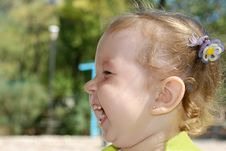 Free Laughing The Girl Royalty Free Stock Images - 3148459