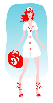 Free Pretty Nurse Royalty Free Stock Photo - 3148675