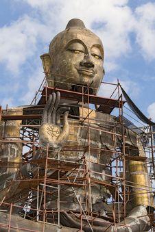 Free Big Buddha Statue Stock Photography - 31400082