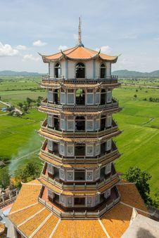 Chinese Style Pagoda Stock Image