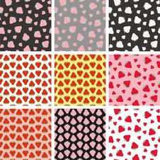 Free Strawberries Patterns Stock Photos - 31403293