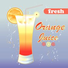 Free Orange Juice Royalty Free Stock Photo - 31407115