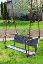 Free Old Wood Swing Royalty Free Stock Photography - 31415277