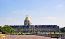 Free The National Residence Of The Invalids. Paris. Royalty Free Stock Photography - 31410357