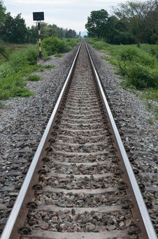 Free Railroad Track Stock Photography - 31412712