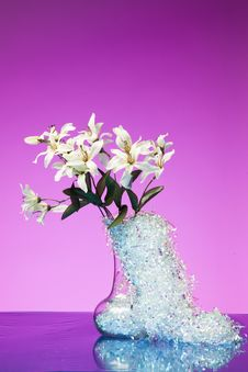 Free White Flower Bouquet Stock Image - 31414861