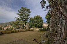 Free A Walk At Villa D Este Stock Photography - 31416722