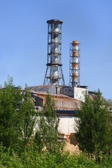 Chernobyl Nuclear Power Plant Royalty Free Stock Images