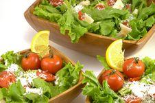 Free Salad Dinner Stock Photography - 31418212