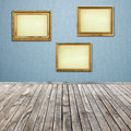 Free Interior Room With Empty Picture Frame Royalty Free Stock Image - 31424886