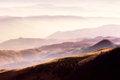 Free Scenery - Misty Mountain Layers Stock Image - 31427661