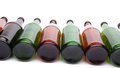 Free Bottles Lying In Perspective Royalty Free Stock Photography - 31427787