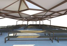 Free 3D Rendered Of Canteen Stock Photo - 31420810
